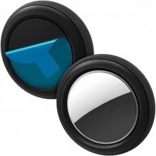 Чохол Spigen для Apple AirTag - Silicon Fit (2ш), силіконовий чорний (AHP03070)