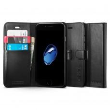 Книжка-Чехол Spigen для iPhone 8 / 7 Wallet S, Black (042CS20545)