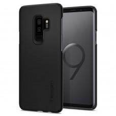 Чехол для смартфона Spigen Samsung Galaxy S9 Plus Case Thin Fit Black 593CS22908