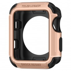 Чехол Spigen для Apple Watch Tough Armor™ 2 (42mm) Blush Gold (059CS22633)