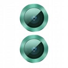 Защитное стекло для камеры Baseus для iPhone 11 Alloy protection, Green (SGAPIPH61S-AJT06)