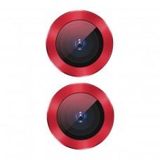 Защитное стекло для камеры Baseus для iPhone 11 Alloy protection, Red (SGAPIPH61S-AJT09)
