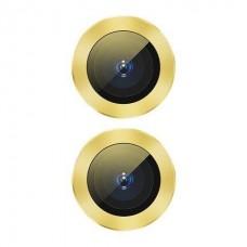Защитное стекло для камеры Baseus для iPhone 11 Alloy protection, Yellow (SGAPIPH61S-AJT0Y)