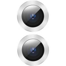 Защитное стекло для камеры Baseus для iPhone 11 Alloy protection, Silver (SGAPIPH61S-AJT0S)