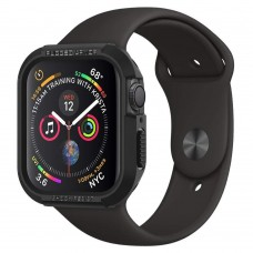 Чехол Spigen для Apple Watch 4 (44mm) Rugged Armor, Black (062CS24469)