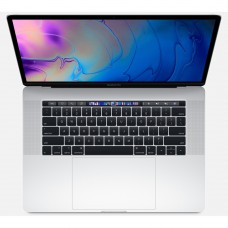 """Apple MacBook Pro 15.4"""" with Touch Bar Core i9 Eight-Core 2.3 GHz/16GB 2400 MHz/512GB SSD (Mid 2019) Silver MV932"""