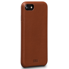 Чехол Sena Leather Skin Snap On Cognac iPhone 8