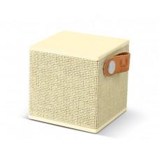 Fresh 'N Rebel Rockbox Cube Fabriq Edition Bluetooth Speaker Buttercup (1RB1000BC)