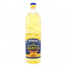 Чумак Олія соняшникова рафінована дезодорована, 1 л