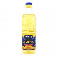 Чумак Масло подсолнечное рафинированное дезодорированное, 0,5 л