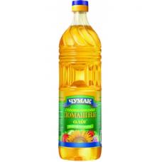 Чумак Масло Домашнее подсолнечное нерафинированное дезодорированное, 0,5 л