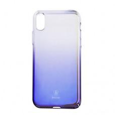 Чехол для iPhone Baseus Glaze Case Black (WIAPIPH8-GC01) for iPhone X