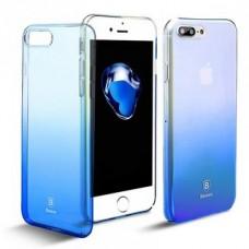 Чехол для iPhone Baseus Glaze Case Blue (WIAPIPH8-GC03) for iPhone X