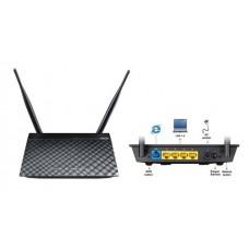 ADSL-роутер ASUS DSL-N12E ADSL2/2+, 802.11n 300Mpbs, 2dBi ант, несъемная, 4xLAN, 1xRJ11