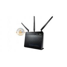 Интернет-шлюз ASUS RT-AC68U 802.11ac AC1900 Двухдиапазонный, Гигабитный, USB 3.0, AiCloud