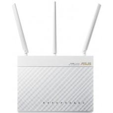 Интернет-шлюз ASUS RT-AC68U_W 802.11ac AC1900 Двухдиапазонный, Гигабит, USB 3.0, AiCloud, White