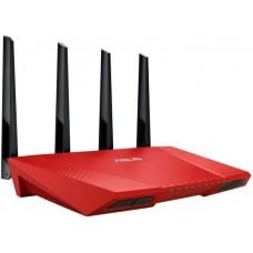 Интернет-шлюз ASUS RT-AC87U_R 802.11AC 2.4/5GHz (до 2334 Мбит/с) 4x1G LAN, 1x1G WAN, 2xUSB, Red