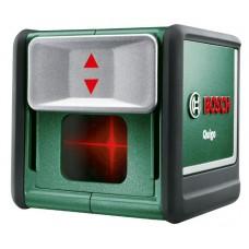 Нiвелiр Bosch Quigo лазерний iз прямими & хрестоподiбними лiнiями