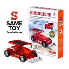 Робот-конструктор Бульдозер Same Toy на солнечной батарее
