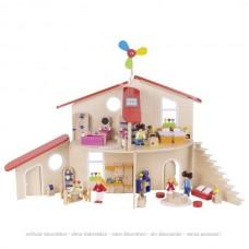 Кукольный домик-конструктор goki 51737G