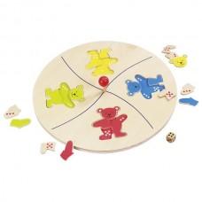 Настольная игра goki Веселые мишки 56941G