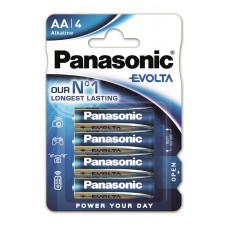 Батарейка Panasonic EVOLTA AA BLI 4 ALKALINE