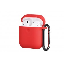 Чехол 2Е для Apple AirPods, Pure Color Silicone (3.0mm) , Red