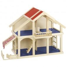Кукольный домик goki 2 этажа с внутреним двориком 51893G