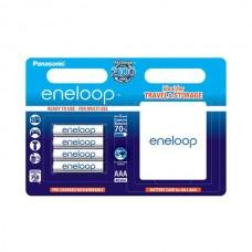 Аккумулятор Panasonic Eneloop AAA 750 4BP mAh NI-MH+case