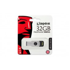 Kingston DataTraveler Swivl USB3.1 32GB Black/Silver