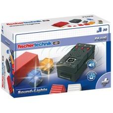 Дополнительный набор fisсhertechnik PLUS Набор LED подсветки и звуковой контроллер FT-500880