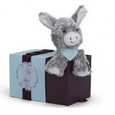 Мягкая игрушка Kaloo Les Amis Ослик серый 19 см в коробке K963121