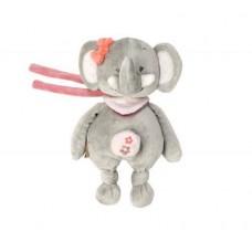 Nattou Мягкая игрушка с музыкой слоник Адель 24см. 424080