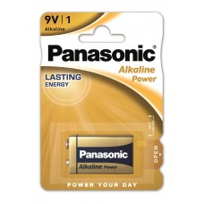 Батарейка Panasonic ALKALINE POWER 6LF22 BLI 1 ALKALINE