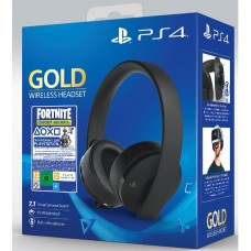 Гарнитура PlayStation Wireless Headset Gold (Fortnite)