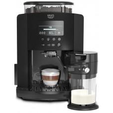 Кофемашина Krups EA819N10 Arabica Latte, 5 рецептов, 1.7 литра, черный