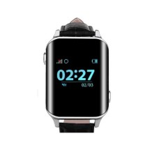 Телефон-часы с GPS трекером GOGPS М01 хром