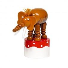 Игрушка goki нажми и тряси Слон 53948G-3