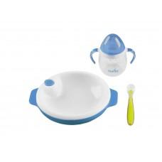 Набор для кормления Nuvita 6м+ Голубой 3 предмета. NV1491Blue