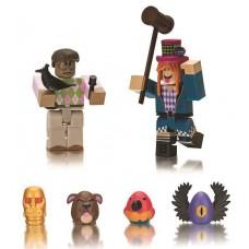 Игровая коллекционная фигурка Jazwares Roblox Game Packs Egg Hunt: The Great Yolktales W3, набор 2шт