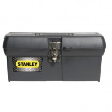 "Ящик для инструмента Stanley ""STANLEY"", 400 x 209 x 183 мм (16""), металл.замки"