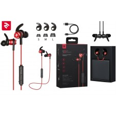 Наушники 2E S9 WiSport In Ear Waterproof Wireless Mic Red
