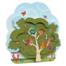 Настенная игрушка Oribel Veritiplay Дом мистера Белки на дереве OR801-90001