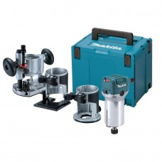 Фрезер Makita RT0700CX2J, 710Вт, 6/8мм, 10000-30000об/мин, 1.8кг