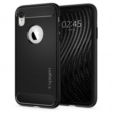 Чехол для смартфона Spigen iPhone XR Case Rugged Armor Black 064CS24871