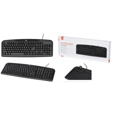 Клавіатура 2E KS 101 USB Black (2E-KS101UB)