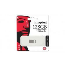 Накопитель Kingston 128GB USB 3.1 DT Micro Metal