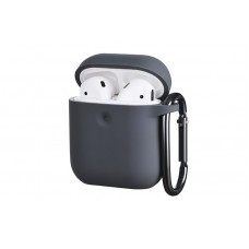 Чехол 2Е для Apple AirPods, Pure Color Silicone (3.0mm) , Carbon Gray