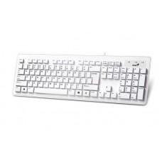 Клавіатура Genius SlimStar 130 White (31300726104) Ru