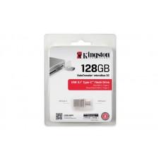 флеш-драйв KINGSTON DT MicroDuo 3С 128GB, Type-C, USB 3.0